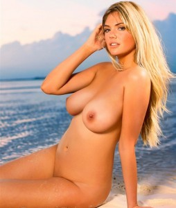 Kate Upton Nude Sexy Picture on the Beach!
