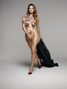 Lake Bell nude body paint!