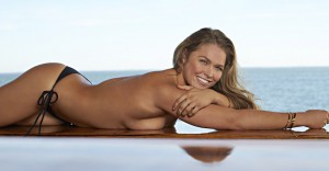 Ronda Rousey naked beach picture