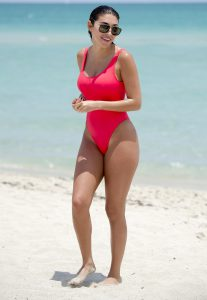 Chantel Jeffries Wet One Piece Goodness